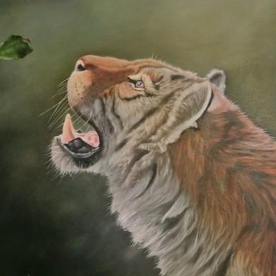 Fotorealistischer Tiger
