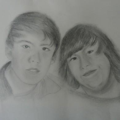Bleistiftporträt